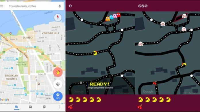 Pesce d'Aprile 2017, su Google Maps si gioca a Pac-Man