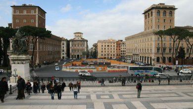Photo of Allarme Bomba a Roma in Piazza Venezia