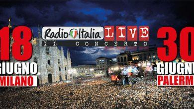 Photo of Radio Italia Live 2017: i cantanti a Milano e Palermo