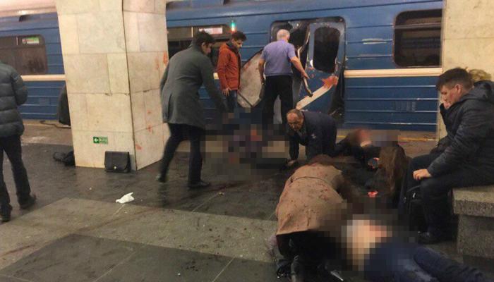 Esplosioni in Metro a San Pietroburgo: Video