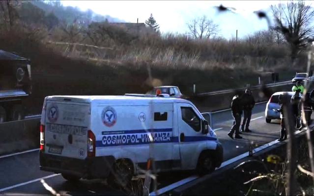 Solofra, spari in galleria: assalto a un portavalori