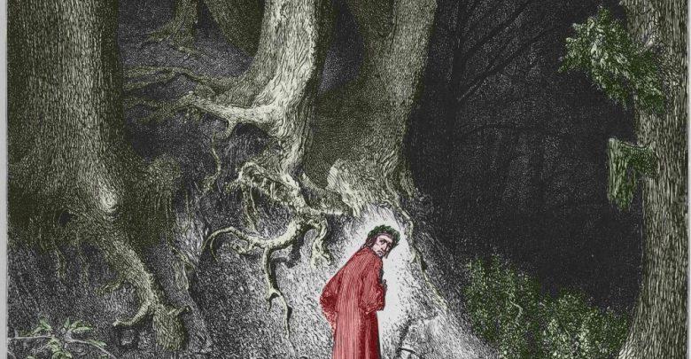 """Accadde Oggi 7 aprile: Dante Alighieri entra nella """"selva oscura"""" 2"""