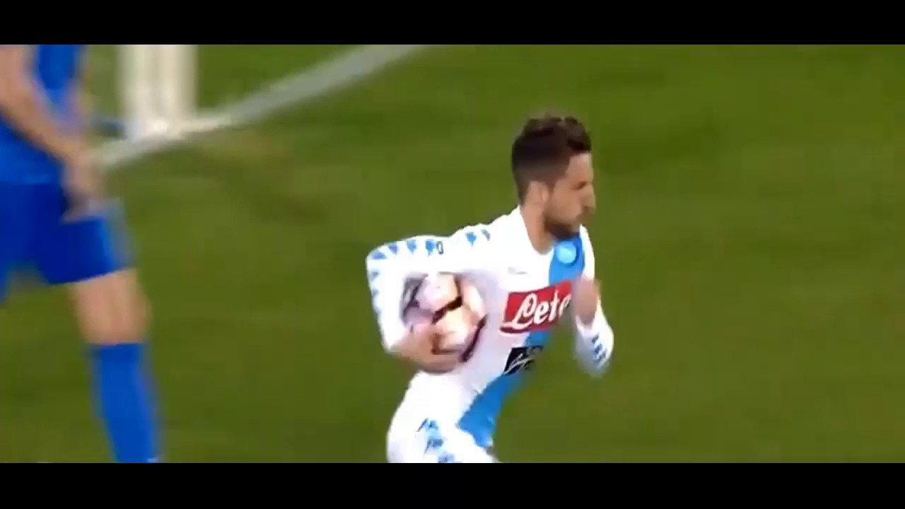 Papera Neto e Gol di Mertens in Napoli-Juve: Video 2