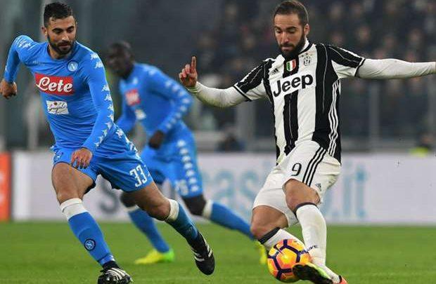 Napoli-Juventus, Formazioni Ufficiali