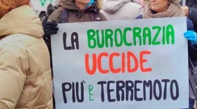 Manifestazione Terremotati Oggi, Salaria bloccata ad Arquata