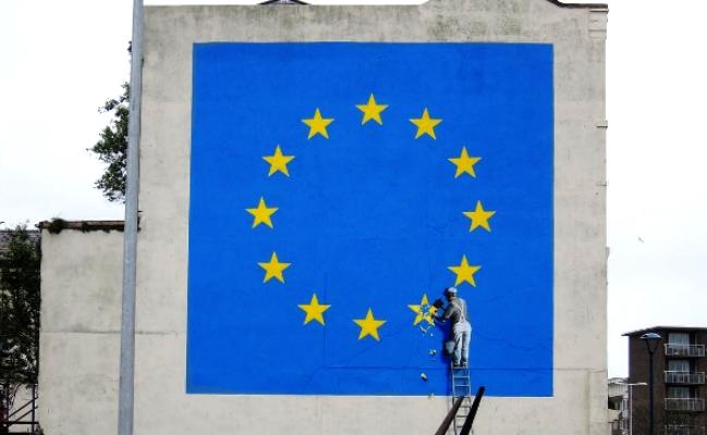 Banksy Graffito Brexit