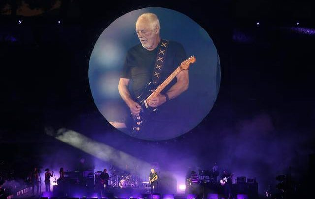 David Gilmour live at Pompei docufilm