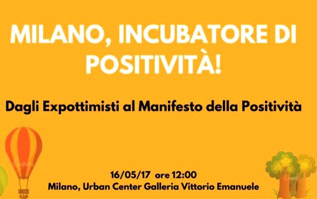 Evento Milano incubatore di positività