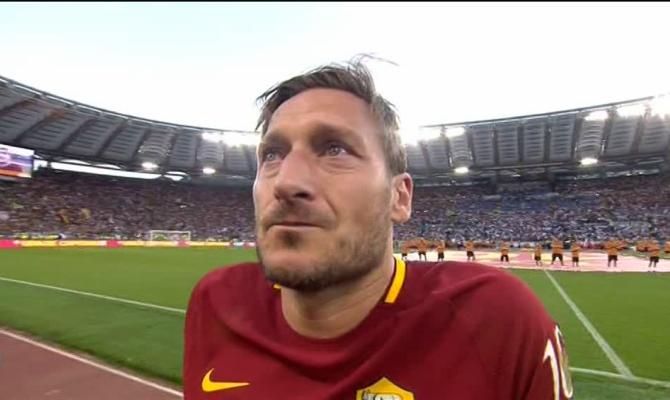 Lettera d'addio Francesco Totti