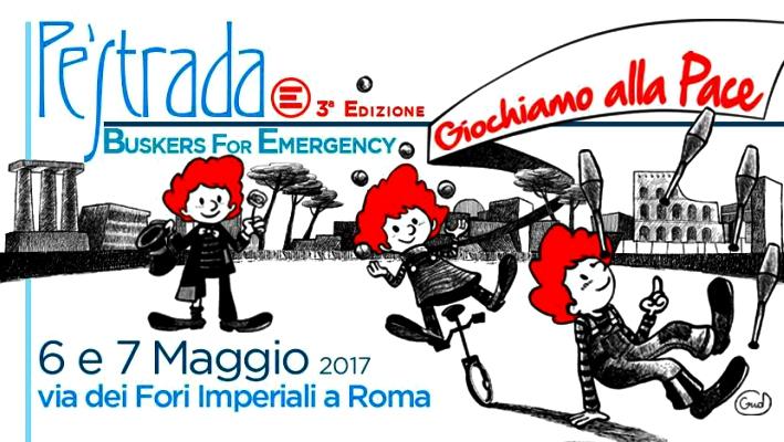 Pè strada a Roma Emergency 6-7 maggio