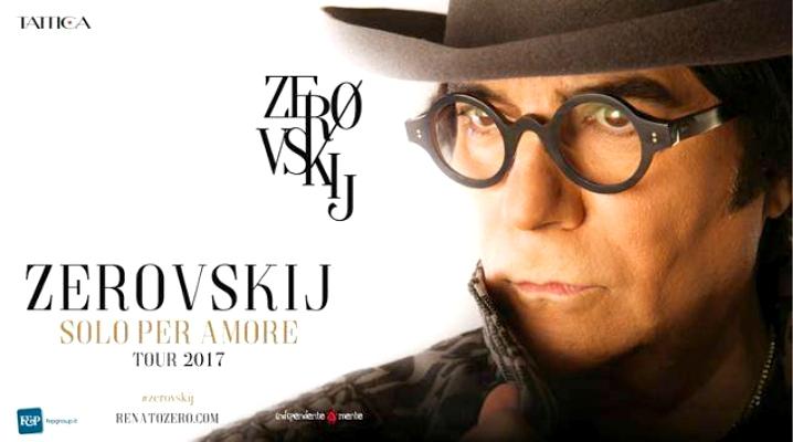 Renato Zero Zerovskij Tour 2017