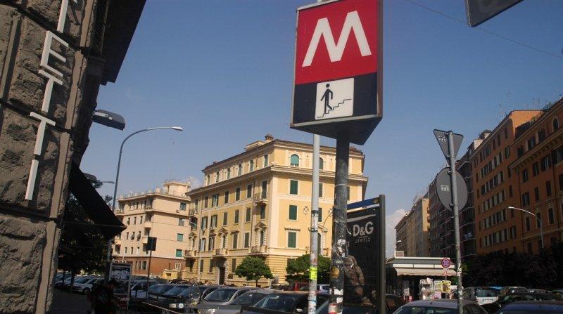 Stazione Metro Roma