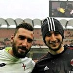 Antonio e Gigio Donnarumma al Milan