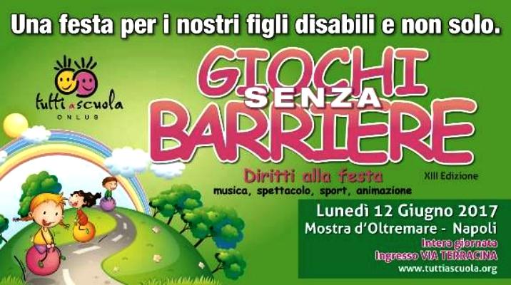 Giochi senza barriere Napoli 2017
