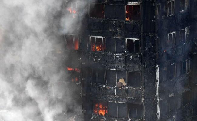 Incendio Londra Grattacielo