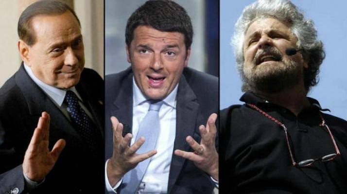 Legge elettorale 2017 Berlusconi Renzi Grillo