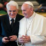 Mattarella e Papa Francesco