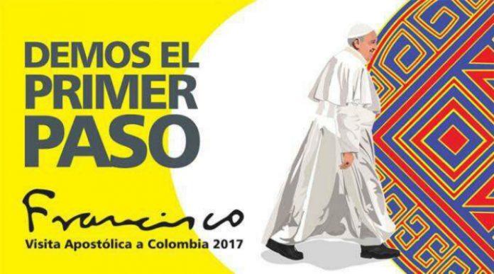 Il Papa in Colombia per