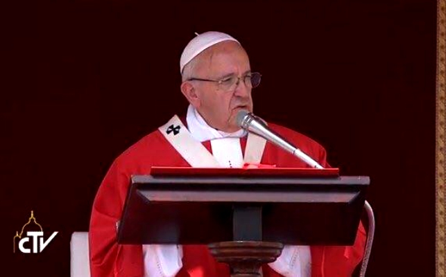 Papa Francesco Messa di Pentecoste