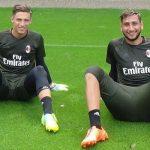 Plizzari e Donnaruma Milan portieri