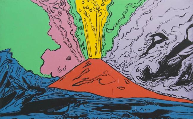 Vesuvius mostra Napoli Andy Warhol