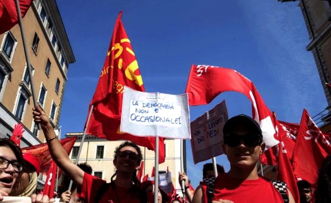 Voucher Manifestazioni Cgil