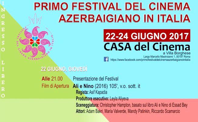 festival cinema azerbaigian 2017 italia