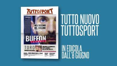 Photo of Nuovo Tuttosport in edicola, il giornale diventa tabloid