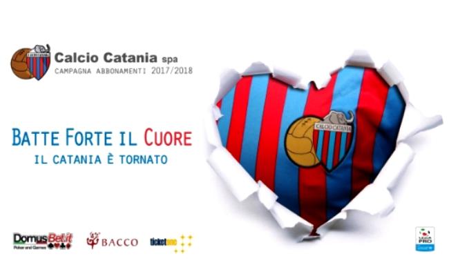 Campagna Abbonamenti Catania 2017-2018