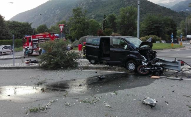 Valsusa, incidente mortale tra un furgone e una moto dopo una lite