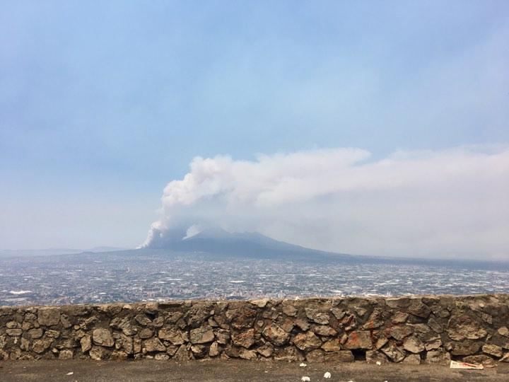 Incendio Vesuvio Oggi