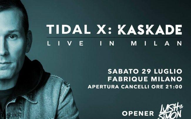 Kaskate live Milano Tidal