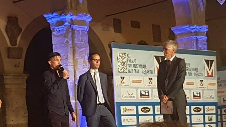 Premio Internazionale Fair Play 2017 Fabio Pisacane