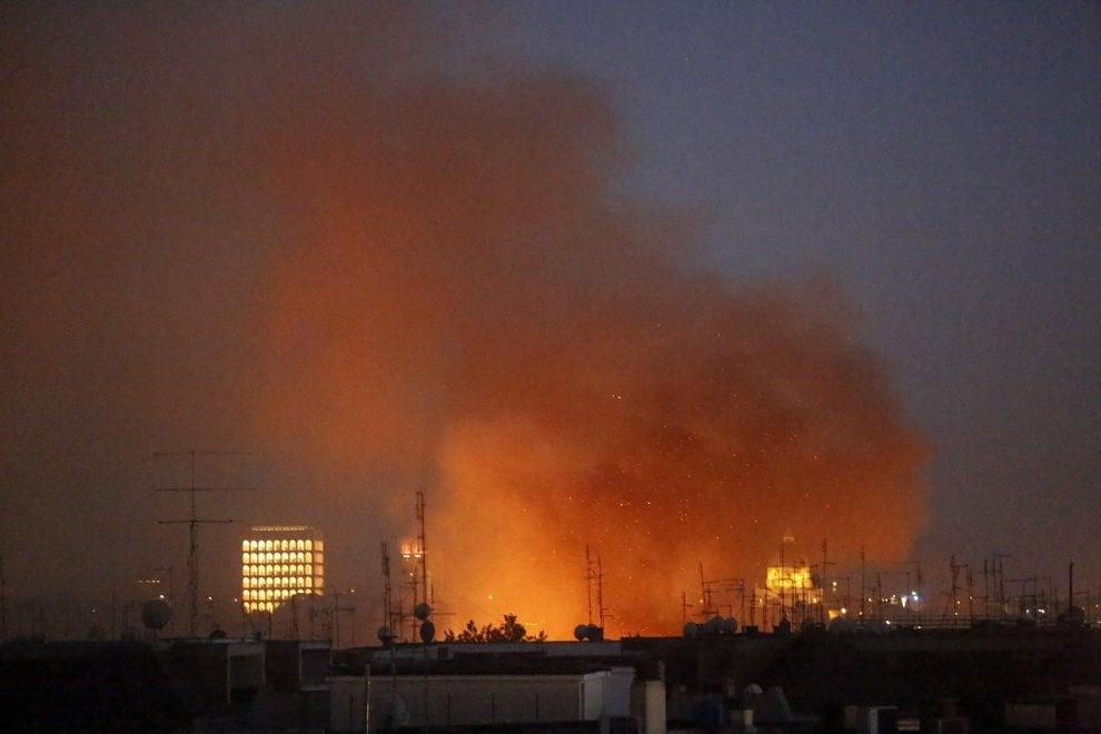 Roma incendi