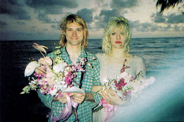 Matrimonio di Courtney Love e Kurt Cobain