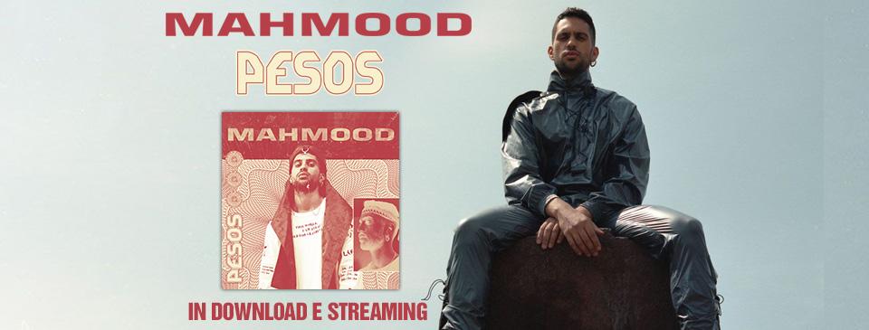 """mahmood pubblica il nuovo singolo """"Pesos"""""""