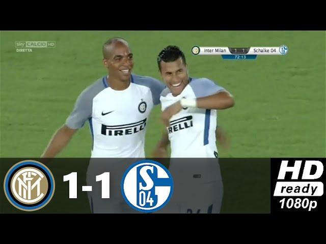 Amichevole: Inter Schalke 1-1, ironia su Twitter