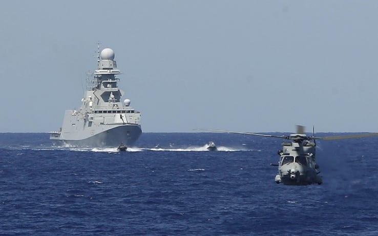 Bombardamento navi italiane