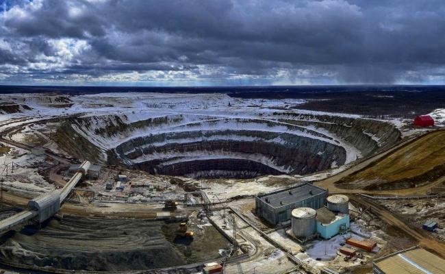 Miniera Allagata in Russia