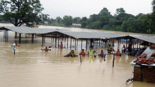 Nepal Inondazioni
