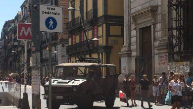 Photo of Napoli, Allerta Terrorismo anche in città: esercito in Via Roma
