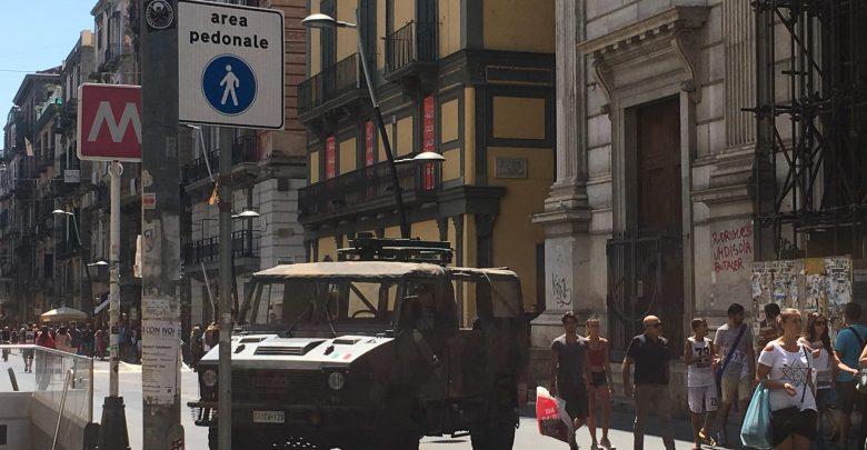 Allerta terrorismo anche a Napoli