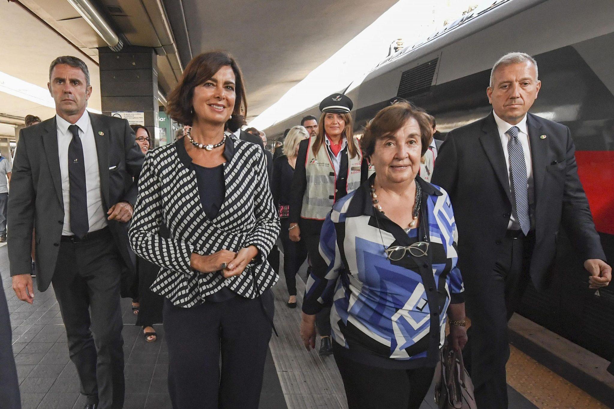 G7 Parlamenti: cominciata visita presidenti a Napoli