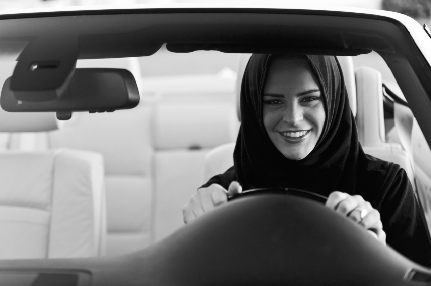 Arabia Saudita, woman driving