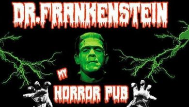 Dr Frankenstein horror pub