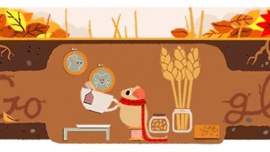Photo of Equinozio d'autunno 2017: Google l'omaggia con un Doodle