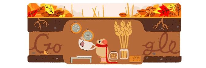 Google Doodle Autumn 2017