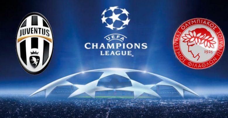 Juventus-Olympiacos Logo