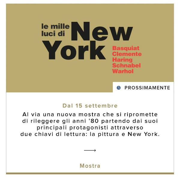 mostra napoli-New York