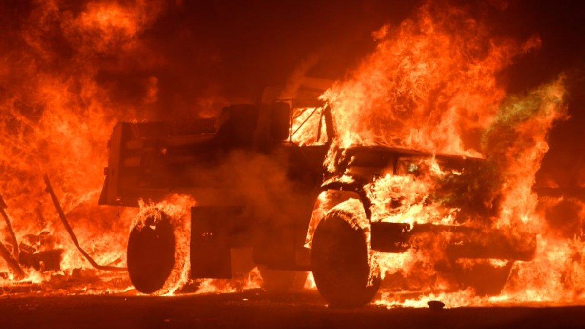 Incendio in California: dieci vittime e migliaia di sfollati